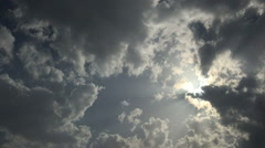 Dark cloud  6 Stock Footage