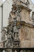 Holy Column in Veszprem - stock photo