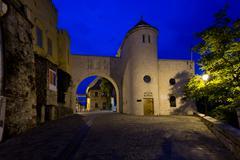 The Castle Gate in Veszprem - stock photo