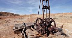 Global Warming Climate Change Drought Abandoned Wasteland Medium Stock Footage