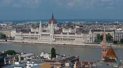 The Danube Bank - stock photo