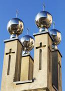Church symbol Stock Photos