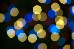 Shiny Bokeh light overlay, background - stock photo