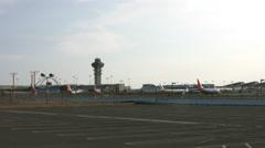 LAX Los Angeles International Airport Stock Footage