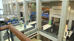 Convention Center Tradeshow Time Lapse Stock Footage