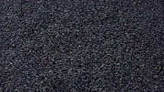 Black Sesame (seamless loopable) Stock Footage