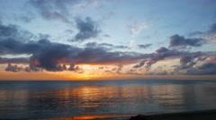 Dumaguete Sunrise Timelapse 15 Stock Footage