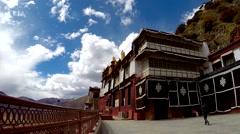 Tibetan Monastery No.12 Stock Footage
