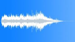 Dark Production Stinger 07: Horror, Piano, Arpeggio, Soupy. Sound Effect