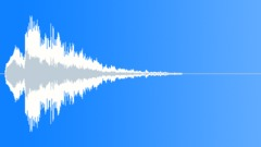 Scifi Audio Logo Ident 17,Mysterious,Droplets,Dissolve. - sound effect
