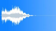 Scifi Audio Logo Ident 37,Short,Mysterious,Bowed Metal. - sound effect