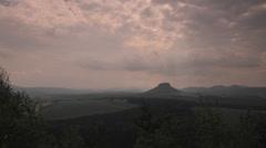 Elbe Sandstone Mountains, Saxon Switzerland, Sächsische Schweiz Stock Footage