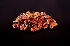 Pecan Nuts Stock Photos