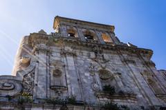 Old Church in Syracusa. Sicily, Italy - stock photo