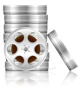 Film reel and box Piirros