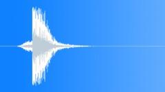 Hi Tech Production Element Reverse Whoosh Metallic Hit Reverb 01 Sound Effect