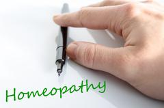 Homeopathy Concept - stock photo
