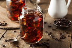 Homemade Cold Brew Coffee - stock photo
