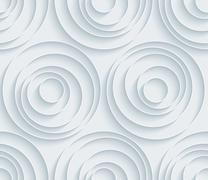 White paper seamless background. Stock Illustration