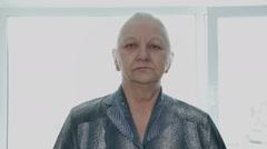 Elderly lady Stock Footage