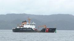 US Coast Guard Naval Ship Stock Footage
