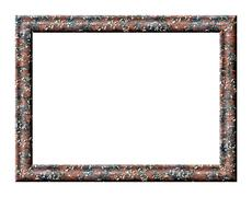 Frame granite - stock illustration