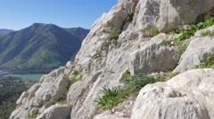 El Chorros mountains Stock Footage