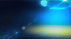 blue animation background for intro tv show - stock footage