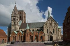 Cathedral of Ribe, Denmark Stock Photos