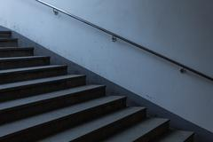 Stock Photo of stair concrete staircase