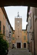 Steeple in Biot Stock Photos
