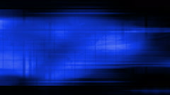 High tech blue abstract background loop Stock Footage