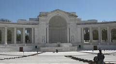 Arlington National Cemetery Memorial Amphitheater 4K Stock Footage
