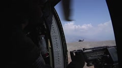 US Army Blackhawk - stock footage