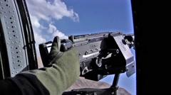 US Army Blackhawk - stock footage