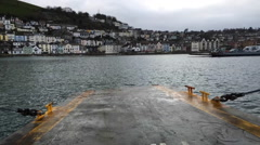 Dartmouth Lower Ferry timelapse Stock Footage