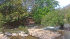 Mountain river  Mae Khan2 - stock footage