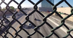View of I-405 Stock Footage