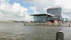 Bimhuis (jazz house) in Amsterdam Stock Footage