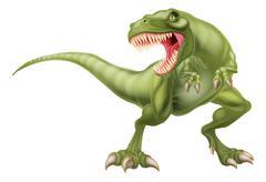 T Rex Dinosaur Illustration Piirros