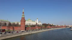 Architectural ensemble of the Moscow Kremlin Stock Footage
