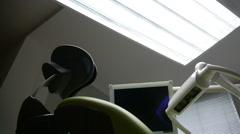 Modern Dentist Stock Footage