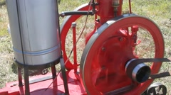 Steam engines, mechanical devices, water pumps - stock footage
