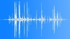 Plastic roll down fall Sound Effect