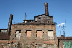 View of the Old Steel Works Stock Photos