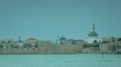 Old City of Akko Stock Footage