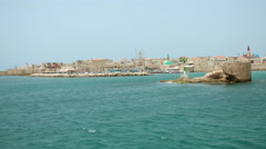 Port of Akko - 2 Stock Footage