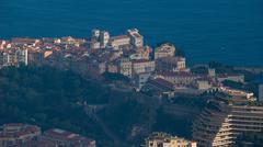 View over Montecarlo - stock photo