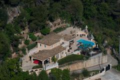 Mansion in Montecarlo - stock photo