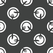 Stock Illustration of Dishware pattern